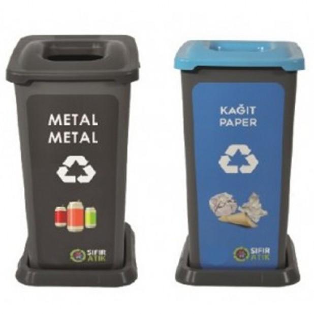 70 Litre Plastik Sıfır Atık Kovası