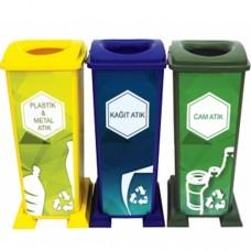 Plastik Geri Dönüşüm Seti 210 Lt